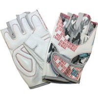 Mad Max – білі рукавички No Matter MFG 931
