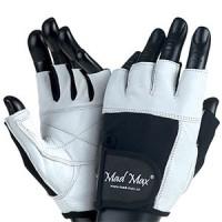 Mad Max – білі рукавички Fitness MFG 444