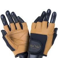 Mad Max – коричневі рукавички Fitness MFG 444