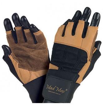 Mad Max – коричневі рукавички Professional MFG 269