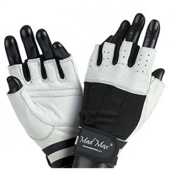 Mad Max – білі рукавички Classic MFG 248