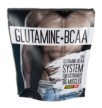 Power Pro – Glutamine + ВСАА – 0,5 кг