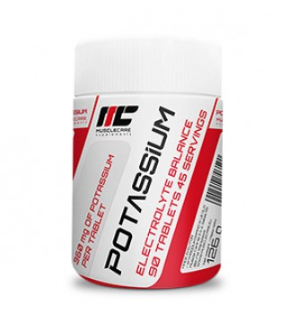 Muscle Care – Potassium – 90 табл.