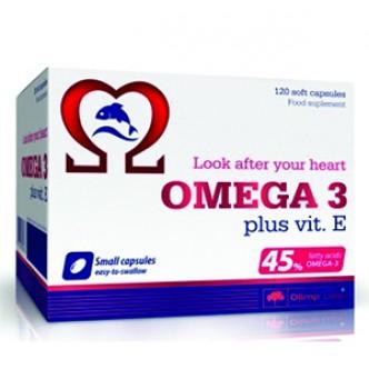 Olimp – Omega 3 + vit E, 45% – 120 капс.