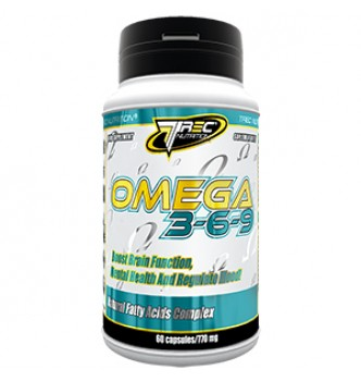 TREC Nutrition – OMEGA 3-6-9 - 120 капс