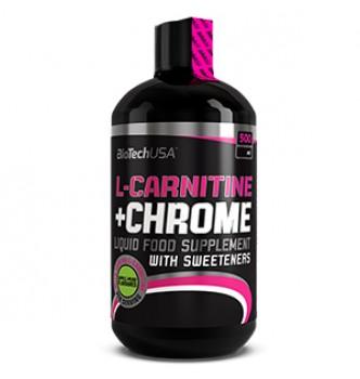 BioTech – L-carnitine 70000 mg + Chrome Liquid – 0,5 л