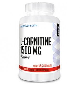 Nutriversum – PurePro L-carnitin 1500 mg – 60 табл.